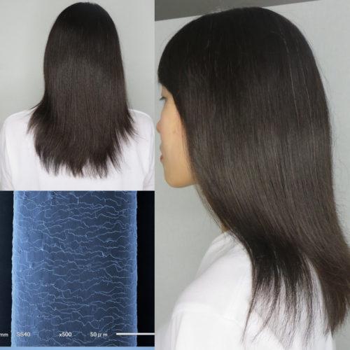キューティクル復元で自然なツヤ髪へ